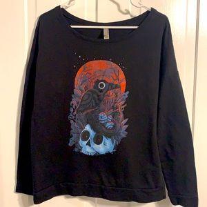 Long Sleeve Light Weight Sweatshirt Size XL